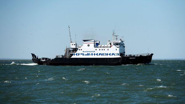 Kerch Strait ferry line - Sputnik International