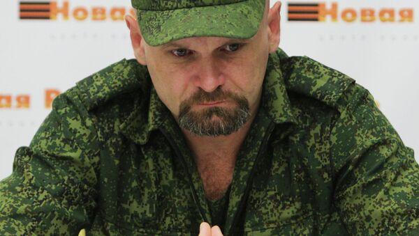Alexei Mozgovoi, leader of the Lugansk Region Resistance (Novorossiya) - Sputnik International