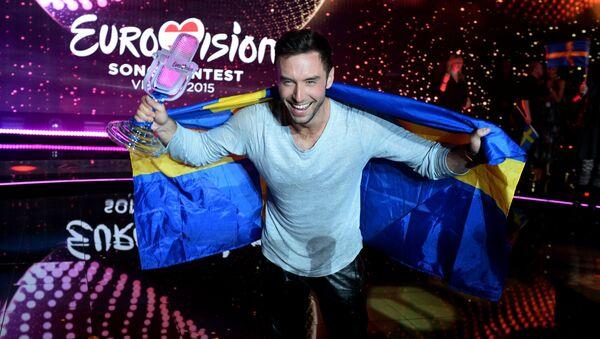 Финал международного конкурса песни Евровидение 2015 в Вене - Sputnik International