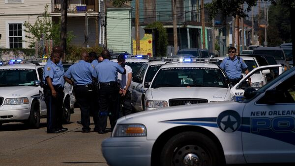 New Orleans Police - Sputnik International