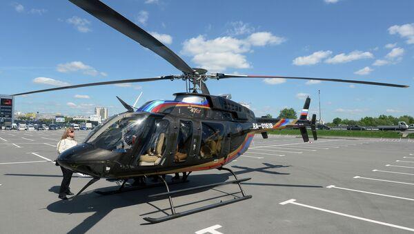 Bell 407 GX helicopter - Sputnik International