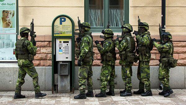Swedish army - Sputnik International