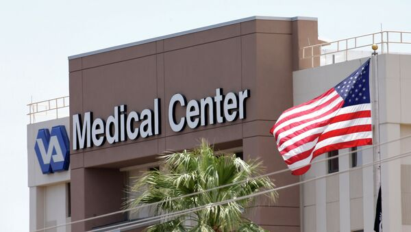 This photo from Saturday, May 17, 2014 shows the Department of Veterans Affairs in Phoenix - Sputnik International