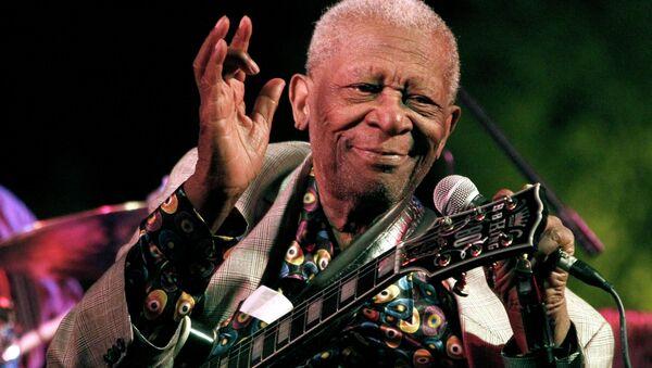 Blues legend BB King - Sputnik International