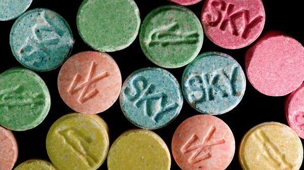 Ecstasy pills, which contain MDMA as their main chemical - Sputnik International
