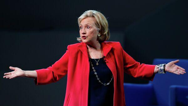 Former Secretary of State Hillary Rodham Clinton - Sputnik International