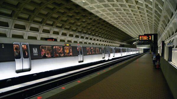 Washington DC Metro Station. - Sputnik International