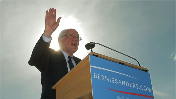 Democratic presidential candidate Sen. Bernie Sanders - Sputnik International