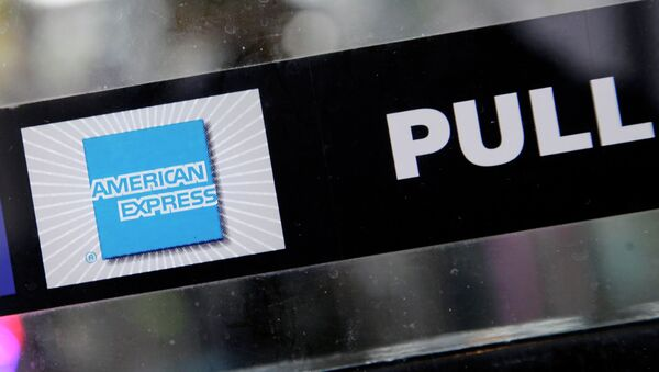 American Express logo - Sputnik International