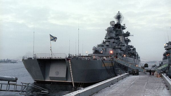 Admiral Nakhimov missile cruiser - Sputnik International