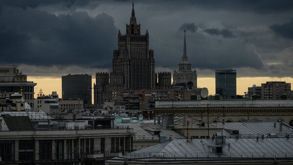 View of Russian Ministry of Foreign Affairs building - Sputnik International