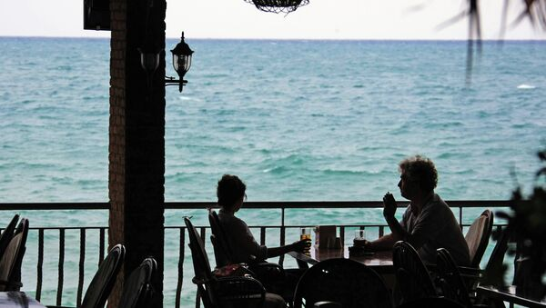 Side, Turkey. A street cafe - Sputnik International