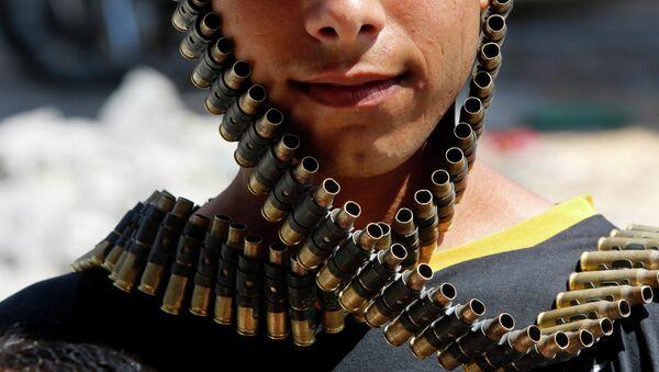 A bandolier of spent bullets - Sputnik International