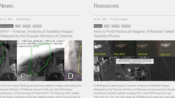 MH17 – Forensic Analysis of Satellite Images by Bellingcat - Sputnik International