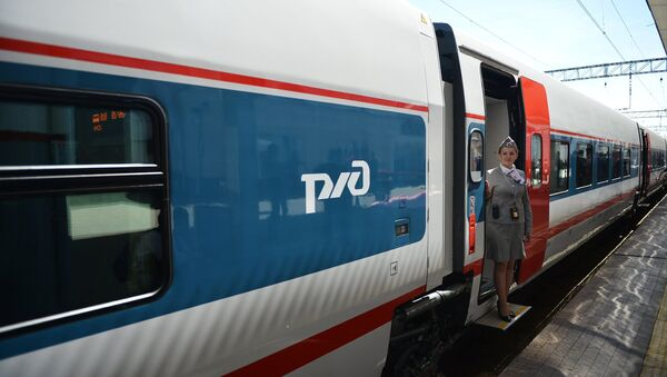 High-speed train Strizh - Sputnik International