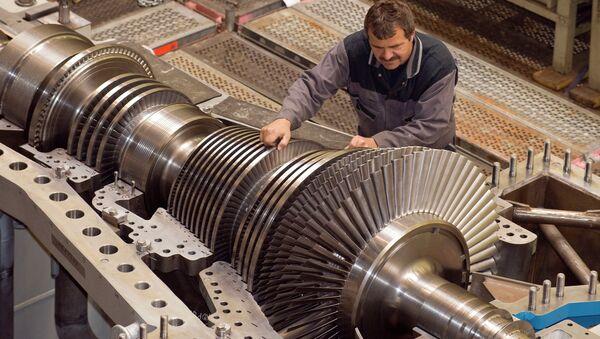 A worker at MAN Turbo AG factory - Sputnik International