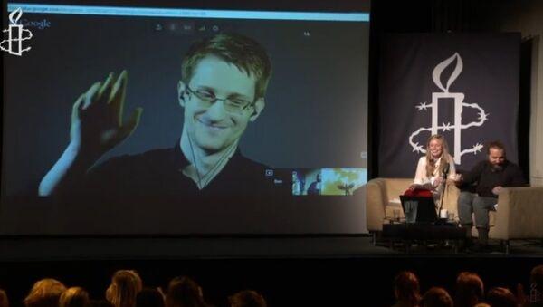Citizenfour Q&A with Edward Snowden - Sputnik International