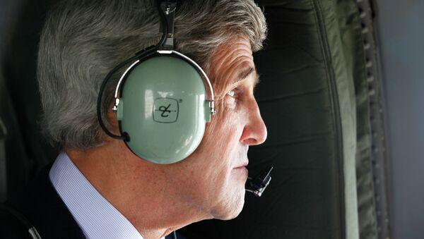 Secretary of State John Kerry Arrives in Kabul - Sputnik International