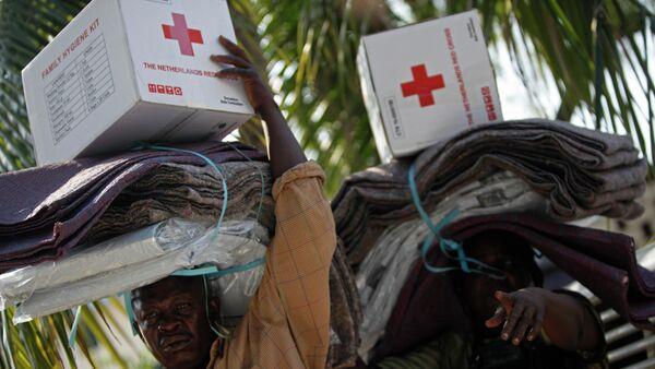 The American Red Cross mission in Haiti - Sputnik International