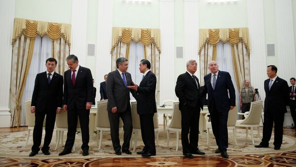 Meeting of foreign ministers of the Shanghai Cooperation Organization - Sputnik International