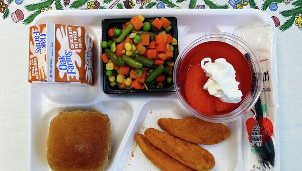 School lunch. - Sputnik International