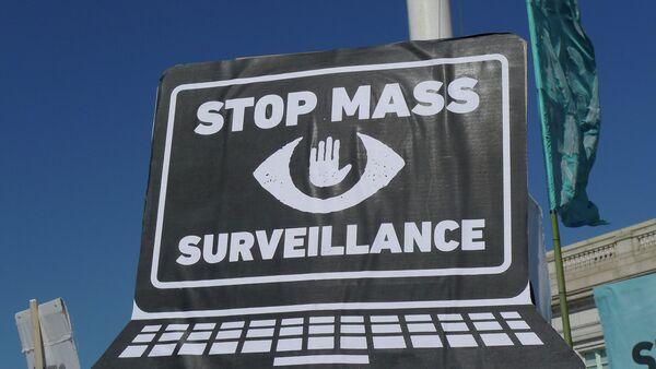 Rally and March in Washington DC Against Mass Surveillance - Sputnik International