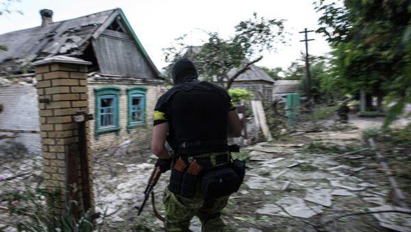 A Ukrainian serviceman - Sputnik International