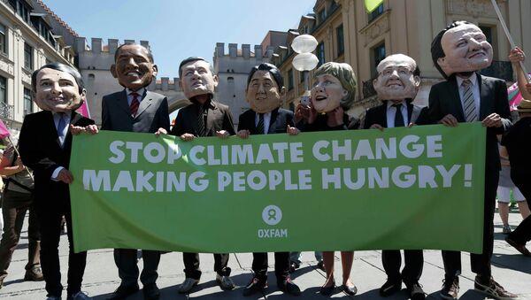 G7 Munich climate change protest - Sputnik International