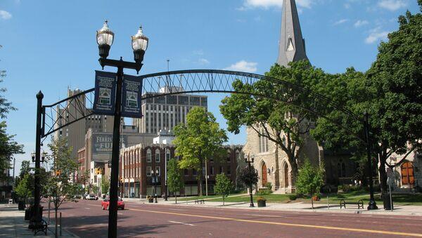 US Army Shocks Michigan Town with Surprise War Games - Sputnik International