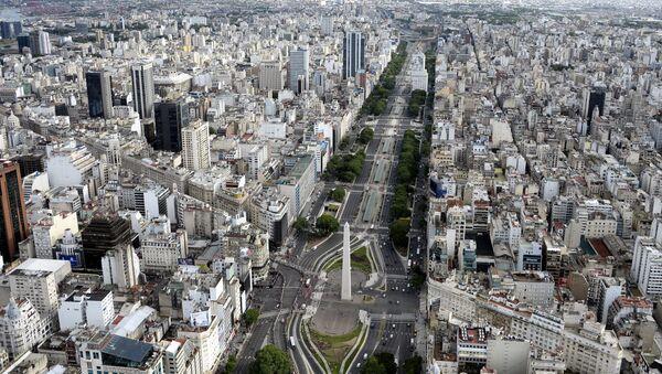 Aerial picture taken over Buenos Aires, Argentina - Sputnik International