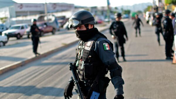 Federal Police Officers in Acapulco, Mexico - Sputnik International