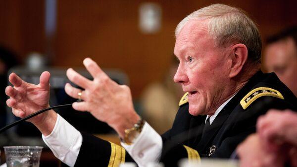 Joint Chiefs Chairman Gen. Martin Dempsey testifies on Capitol Hill in Washington, Wednesday, May 6, 2015 - Sputnik International