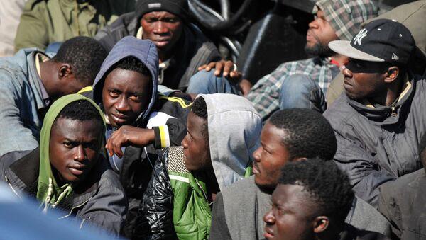 African refugees - Sputnik International