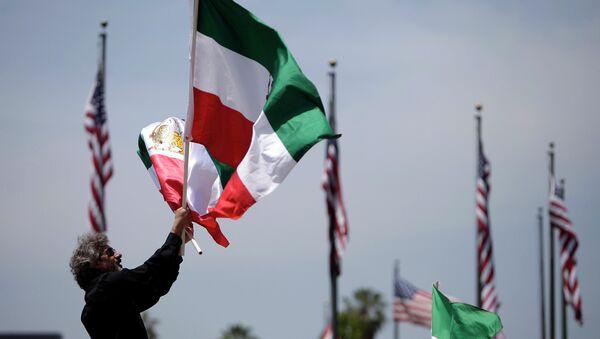 Iranian flag. File photo - Sputnik International
