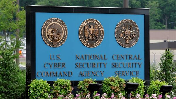 A sign stands outside the National Security Agency (NSA) campus in Fort Meade - Sputnik International