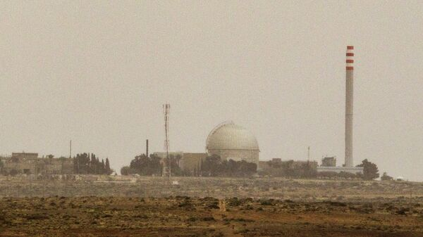 A picture taken on March 8, 2014 show a partial view of the Dimona nuclear power plant in the southern Israeli Negev desert - Sputnik International