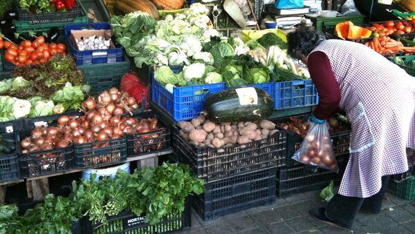 Food market in Spain - Sputnik International