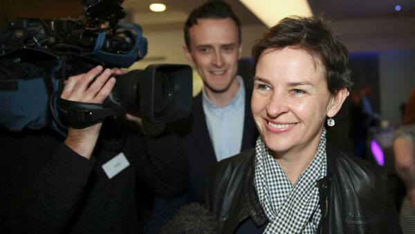 Mary Creagh, a British Labour Party politician and the current Shadow Secretary of State for International Development, announced on Friday that she is pulling out the Labour leadership race in a statement, quoted by the Guardian - Sputnik International