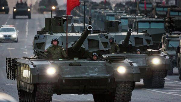 Russia's new T-14 Armata tank - Sputnik International