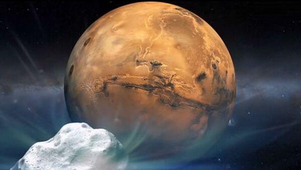 Japan's space agency, JAXA, has just unveiled plans to land on a Martian moon. - Sputnik International