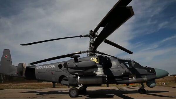 Kamov KA-52 Helicopter - Sputnik International