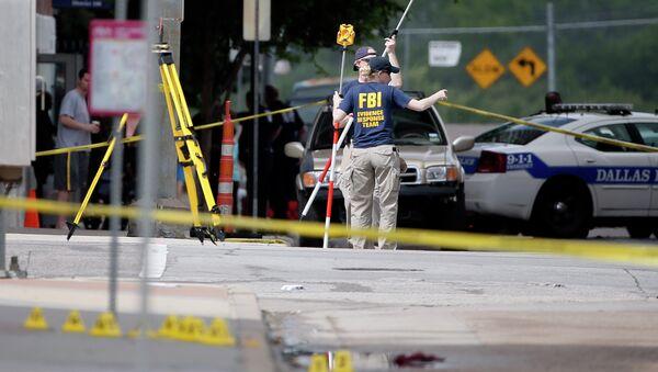 Explosion at Dallas police headquarters - Sputnik International