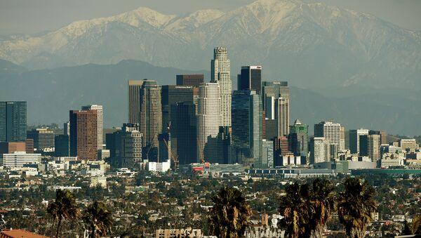 The Los Angeles city skyline - Sputnik International