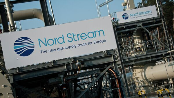 View of the Nordstream gas pipeline terminal prior to an inaugural ceremony for the first of Nord Stream's twin 1,224 kilometre gas pipeline through the Baltic Sea, in Lubmin, Germany, 8 November 2011 - Sputnik International
