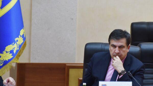 Mikhail Saakashvili - Sputnik International