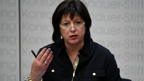 Ukraine's Finance Minister Natalie Jaresko attends the Europa-Forum series of events organised by the Konrad-Adenauer-Stiftung foundation on April 1, 2015 in Berlin - Sputnik International