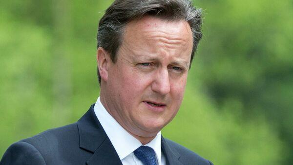 David Cameron - Sputnik International
