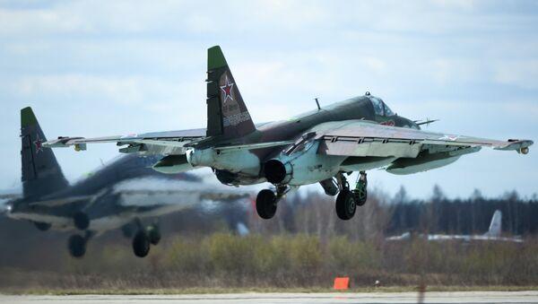 Su-25 attack aircraft - Sputnik International