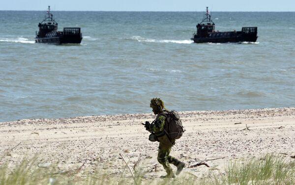 NATO military exercises - Sputnik International