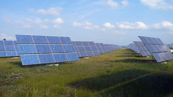 Solar power plant. - Sputnik International